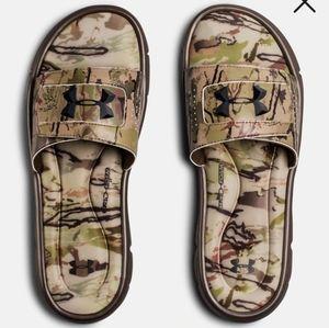 🦌 Under Armour Camo Slide Flip Flop